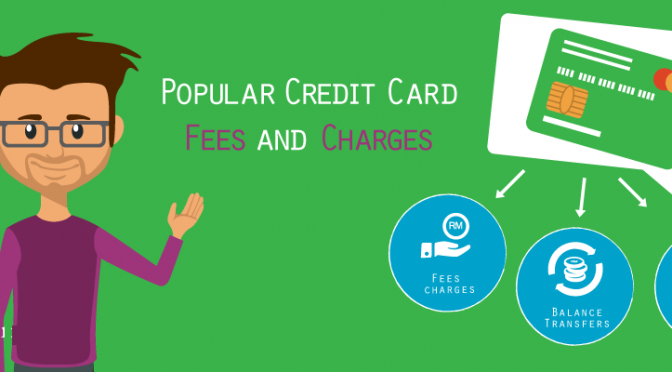 Credit card charges and fees